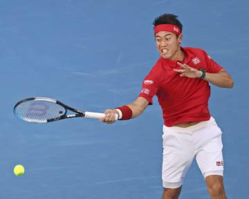 復帰戦の錦織、西岡ともに敗れる 日本、ATPカップ準決進出逃す 画像1