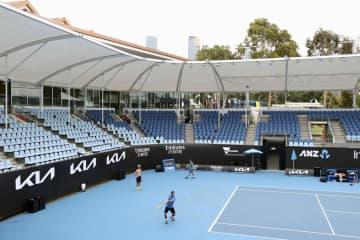 全豪テニス、500人超を隔離 コロナ感染判明で、難しい調整 画像1
