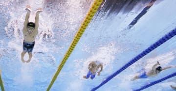 競泳400mメドレー、萩野6位 ジャパン・オープンが開幕 画像1