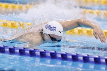 松元克央が200m自由形制す 競泳ジャパン・オープン第2日 画像1