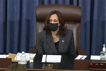 米上院、経済対策予算決議を可決 200兆円、与党単独可決へ道 画像1