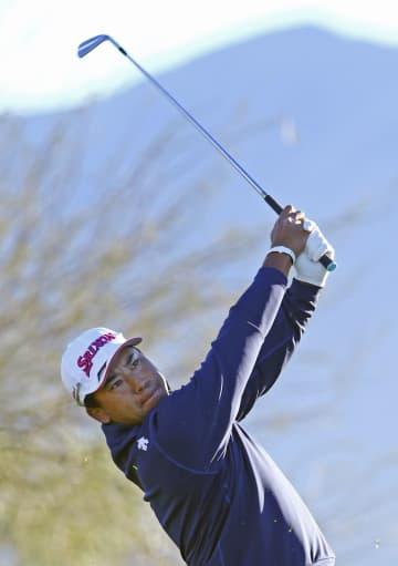 松山英樹、67で8打差の40位 米男子ゴルフ第2日 画像1