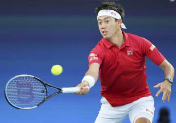 西岡と錦織が連敗、日本最下位 男子テニスのATPカップ 画像1