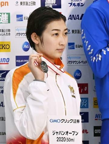 池江璃花子、復帰後初の表彰台 目覚ましい回復ぶり 画像1