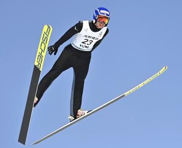 中村正幹がジャンプ男子優勝 全国高校スキー第2日 画像1