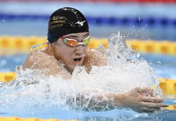 佐藤翔馬、日本記録に迫る快泳 競泳、ジャパン・オープン最終日 画像1