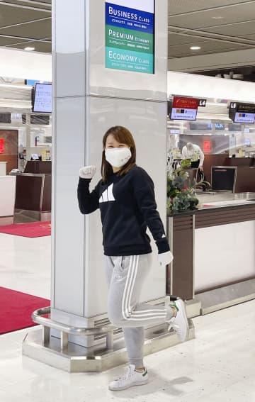 畑岡奈紗が米5季目へ渡米 「最低限1勝はしたい」 画像1