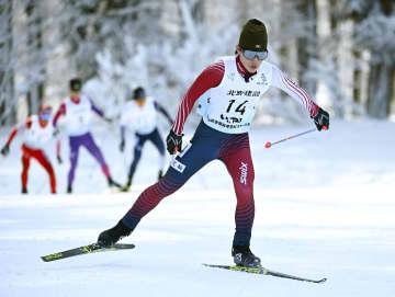 高校スキー、複合男子は木村がV 第3日、後半距離で逆転 画像1
