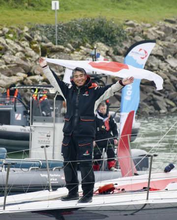 白石さん世界一周ヨット競争完走 単独無寄港無補給、アジア勢で初 画像1
