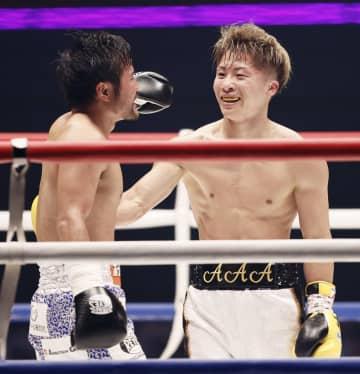井上尚弥らがエキシビション ボクシング慈善イベント 画像1