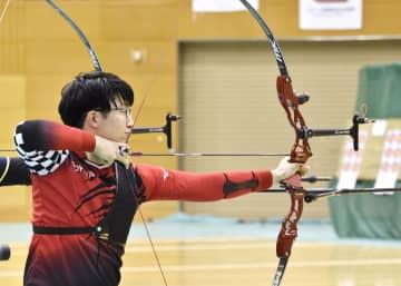 アーチェリー、男子は武藤が優勝 全日本室内選手権 画像1