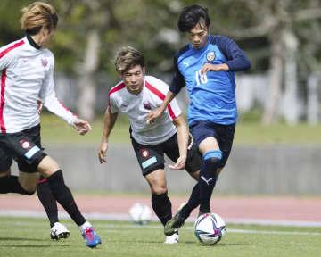 J1川崎、キャンプ打ち上げ 練習試合で札幌に快勝 画像1