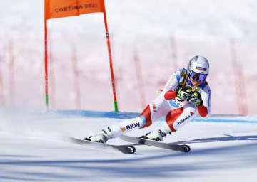 女子滑降、26歳のズター初優勝 アルペン世界選手権 画像1