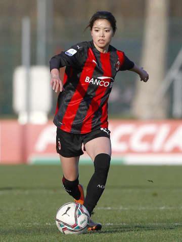 伊移籍の長谷川唯がデビュー サッカー女子のACミラン 画像1