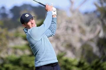 米男子ゴルフ、スピース首位守る ペブルビーチ・プロアマ第3日 画像1