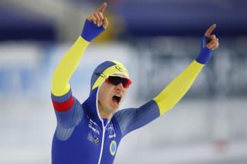 ファンデルプールが世界新 スケート世界選手権 画像1