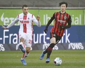 ドイツ、鎌田が先制点をアシスト フランクフルト、ケルンを2―0 画像1