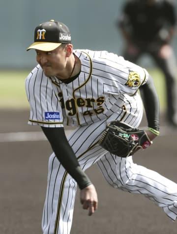 阪神の秋山、変化球試し及第点 練習試合で3回1失点 画像1