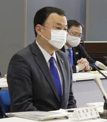 島根知事、聖火リレー中止の意向 五輪開催も反対、コロナ対応不満 画像1