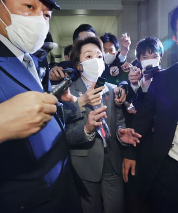 橋本五輪相に新会長要請へ 東京五輪・パラ組織委 画像1