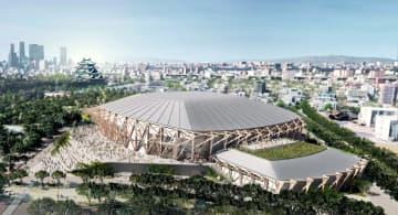 木の柱覆う最大級アリーナ、愛知 新しい県体育館、隈研吾氏設計 画像1