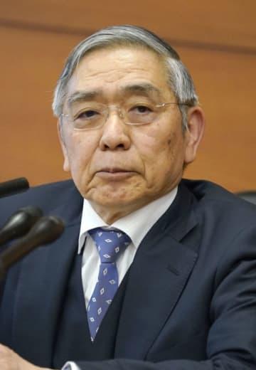 日銀の黒田総裁、首相と会談 金融緩和長期化を説明 画像1