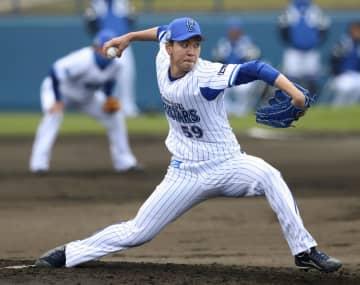 DeNA平良、初実戦で3回完璧 阪神と練習試合、開幕投手候補 画像1