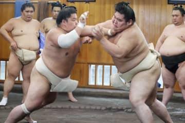 大栄翔、春場所へ18番の稽古 合同稽古は参加せず 画像1