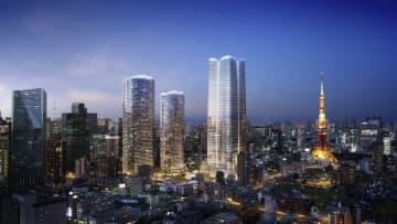 日本一の超高層住宅建設へ 森ビル、東京・港区に 画像1