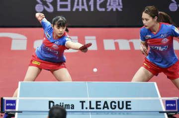 卓球女子、神奈川が日本生命下す Tリーグ、男子は彩たまが勝つ 画像1