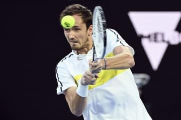 全豪テニス、メドベが初の決勝へ 男子単、ジョコビッチと対戦 画像1