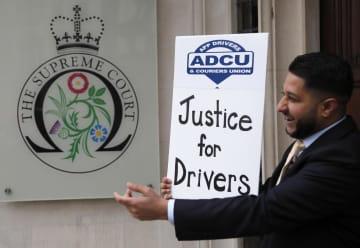 ウーバー運転手は従業員 英最高裁、権利認める 画像1