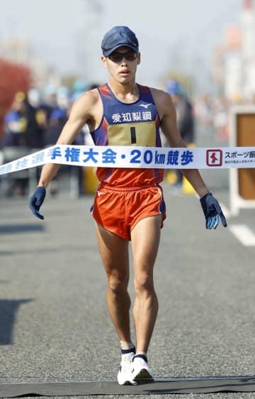 競歩、山西利和が大会新で連覇 20キロ、女子は藤井菜々子初V 画像1