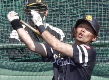 ソフトB中村晃、初の特打で備え 23日から対外試合 画像1