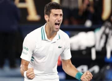 ジョコ、全豪で3年連続9度目V テニス四大大会で18勝 画像1