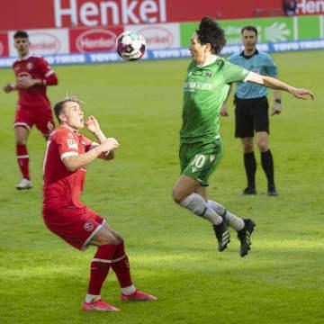 サッカー、原口がフル出場 ドイツ2部、アペルカンプが得点 画像1