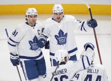 NHLメープルリーフス首位守る 第6週、北地区3連勝 画像1
