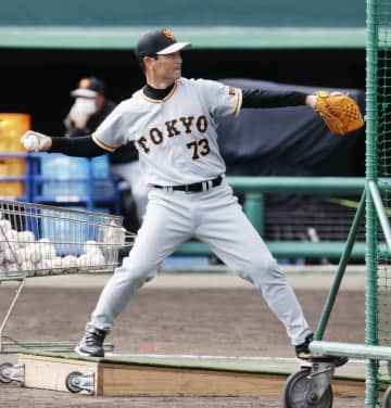 桑田コーチが初の打撃投手 巨人、52歳と思えぬ速球 画像1