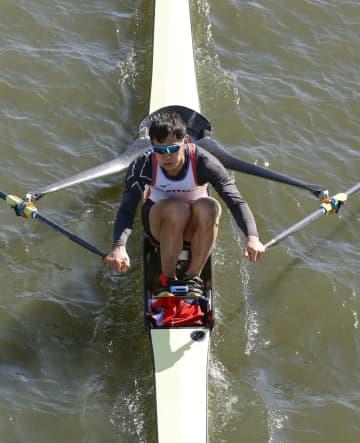 ボート、男子は荒川が首位 Sスカル評価レース、女子は米川 画像1