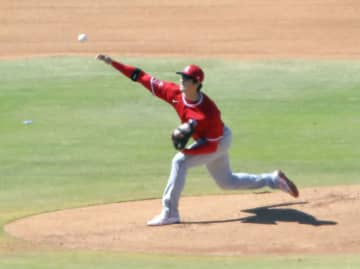 大谷、フリー打撃に初登板 有原も、前田は投球練習 画像1