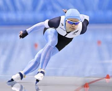 千メートルで山田が小平に先着 スピード非公式記録会 画像1