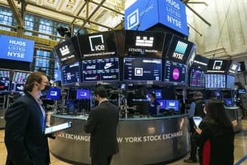NY株反落、559ドル安 長期金利上昇を警戒 画像1