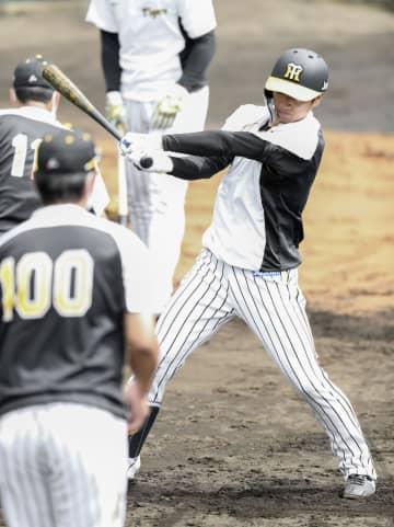 阪神の近本、焦りなし 開幕見据え、打撃に重点 画像1
