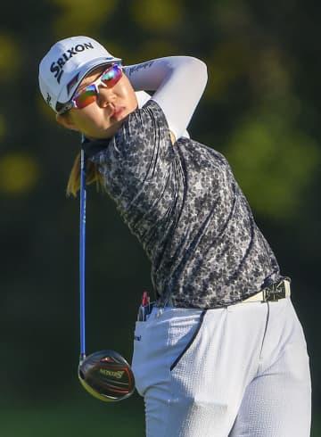 畑岡奈紗、伸ばせず8打差27位 米女子ゴルフ第2日 画像1