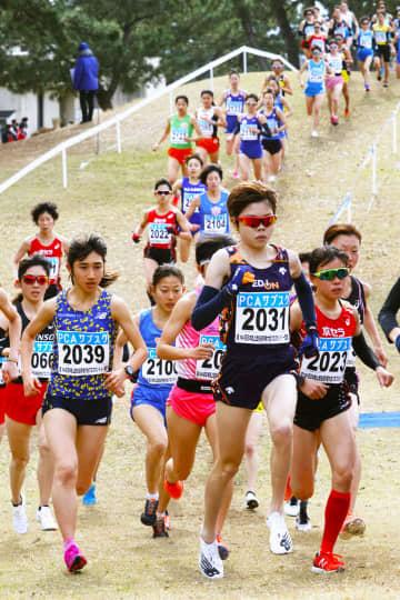 クロカン女子は萩谷V、田中4位 陸上日本選手権 画像1