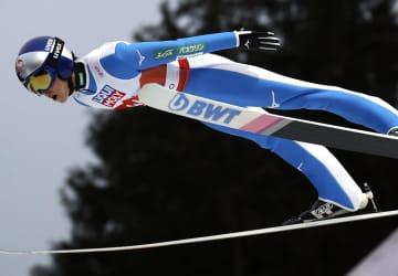 ジャンプ男子、小林陵侑は12位 世界ノルディック、ノーマルヒル 画像1