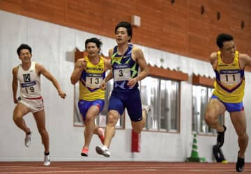 山県亮太が10秒39で優勝 新設の陸上室内競技会 画像1