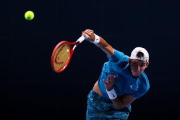 テニス、ポピリンがツアー初優勝 男子のシンガポール・オープン 画像1