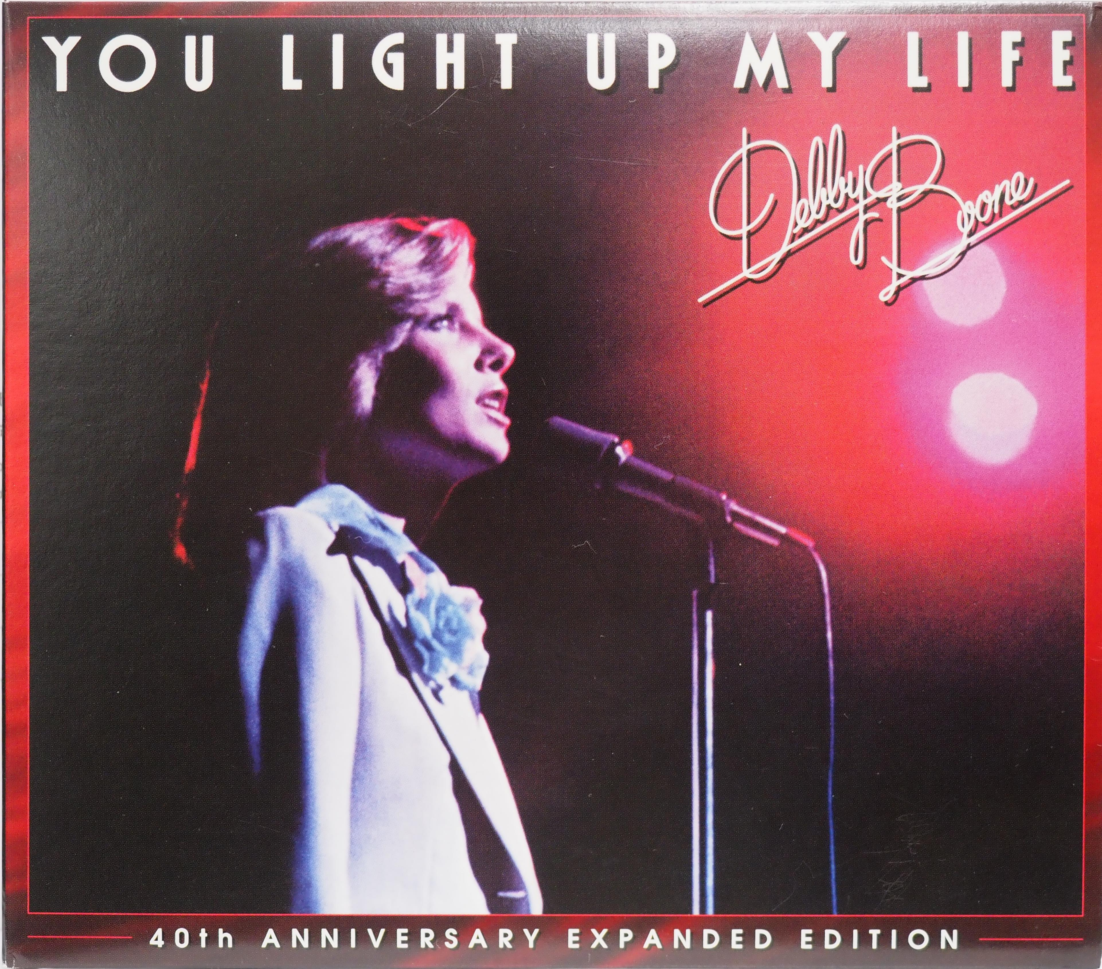 『YOU LIGHT UP MY LIFE (40TH ANNIVERSARY EXPANDED EDITION)/デビー・ブーン』(輸入盤)