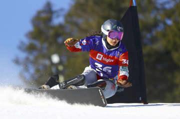 竹内は7位、前回上回る スノーボード世界選手権 画像1